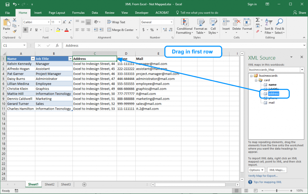 ms excel to xml converter free download