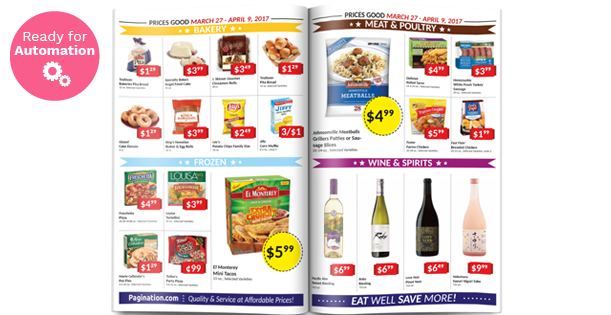 Image of a Wholesale Catalog Layout Template