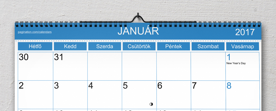 2018 calendar template indesign