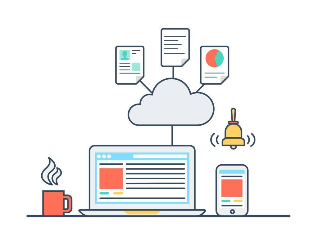 impaginazione automatica cloud