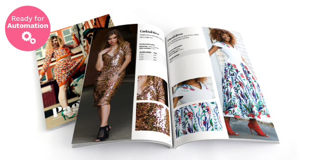 Image of a Clothing Catalog Template