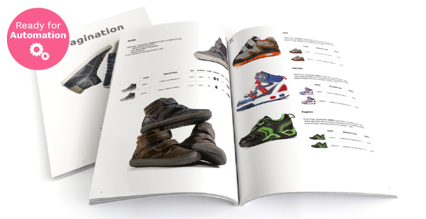 Image of a Footwear Line Sheet Template