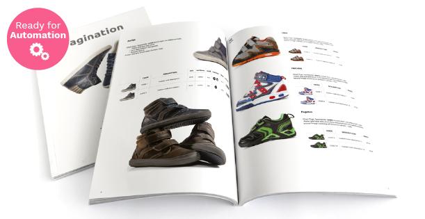 Image of a Footwear Line Sheet Template