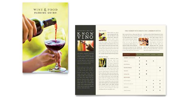 Image of a half fold brochure