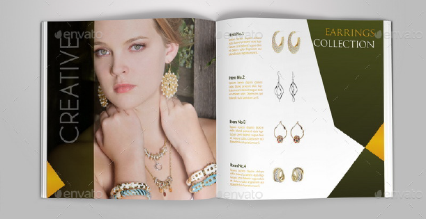 Jewelry and Accessories Catalog Template